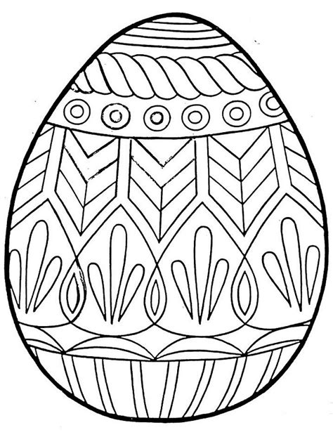 Mosaic Easter Egg Coloring Sheets Coloring Pages Eggs Coloring Page