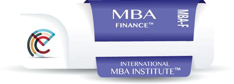 Masters Of Finance And Mba by Your Free Mba Books International Mba Institute