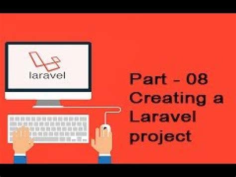 laravel tutorial for beginners windows 8 php laravel create laravel project youtube