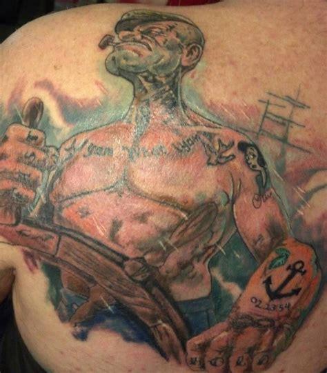 popeye tattoo popeye tattoo designs best 3d tattoo ideas pinterest