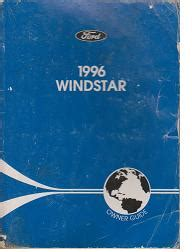 books about how cars work 1996 ford windstar engine control 1996 ford windstar owners manual operators manual ebay