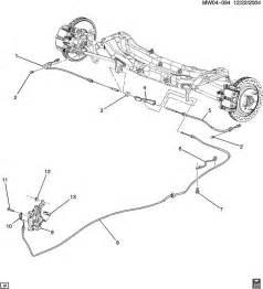 Service Brake System Impala Chevrolet Impala Parking Brake System