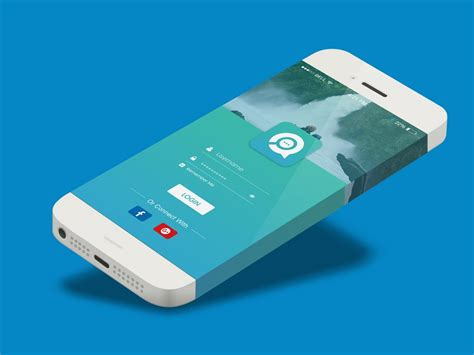 mobile sign up 20 material design mobile login and signup forms on air