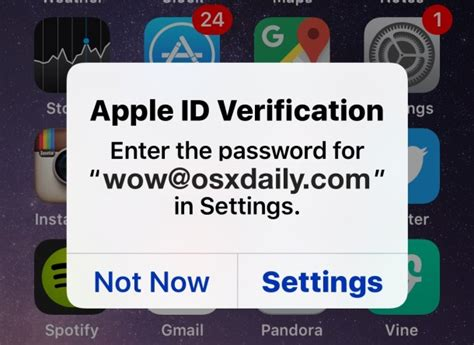 fix constant apple id verification password pop ups on iphone