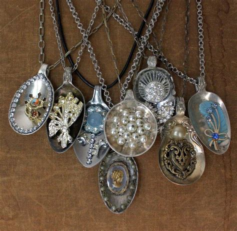 silverware jewelry how to make 241 best spoon jewelry images on silverware