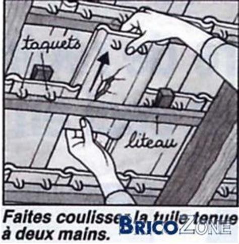 Changer Tuile Toit by Changer Une Tuile Par L Int 233 Rieur