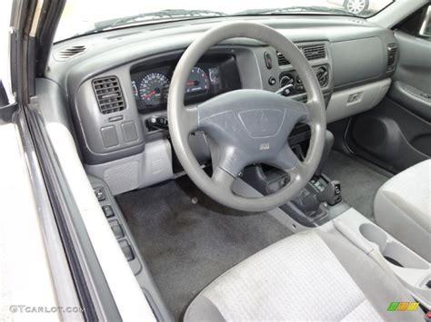 gray interior 2003 mitsubishi montero sport ls 4x4 photo