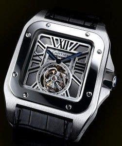 cartier santo  titanium treasure relojes reloj relojes hombre  relojes de lujo