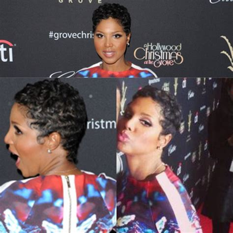 how to do toni braxton curly hair close cropped wavy shag toni braxton make me over