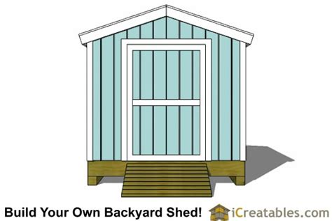 8x12 Shed Foundation by 8x12 Shed Plans Storage Shed Plans Icreatables