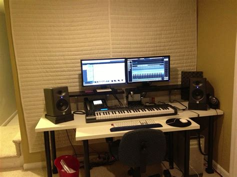 home music studio desk home recording studio design peenmedia com