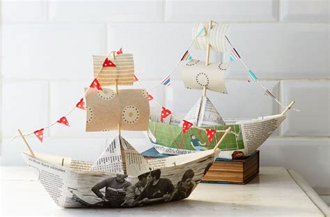 how to make a paper viking boat how to make a paper boat goodtoknow
