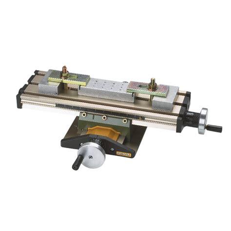 tavola rotary proxxon x y axis compound table for mini drill press