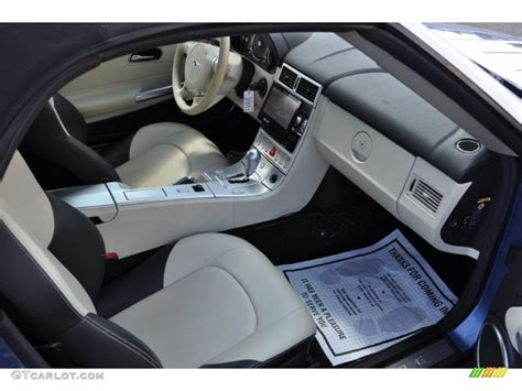 Crossfire Interior by 2005 Chrysler Crossfire Limited Roadster Interior Photo