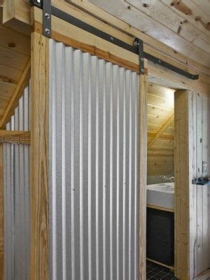 cabin cheery i like corrugated roofing used in sliding door of corrugated metal cabins