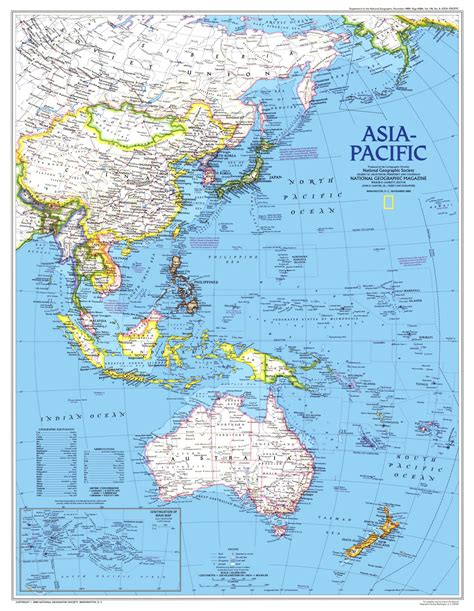 asia map geography asia pacific map 1989 maps