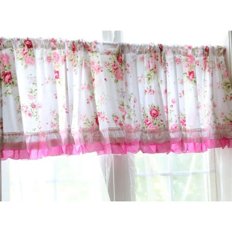 Pink Kitchen Curtains Kitchen Design Gallery White Shabby Chic Curtains