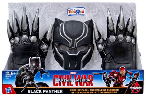 Hasbro Civil War Marvels War Machine Mask B67433 captain america civil war black panther warrior pack on sale at toywiz