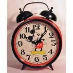 sunbeam mickey mouse large 18 quot bell alarm clock 10 13 2007