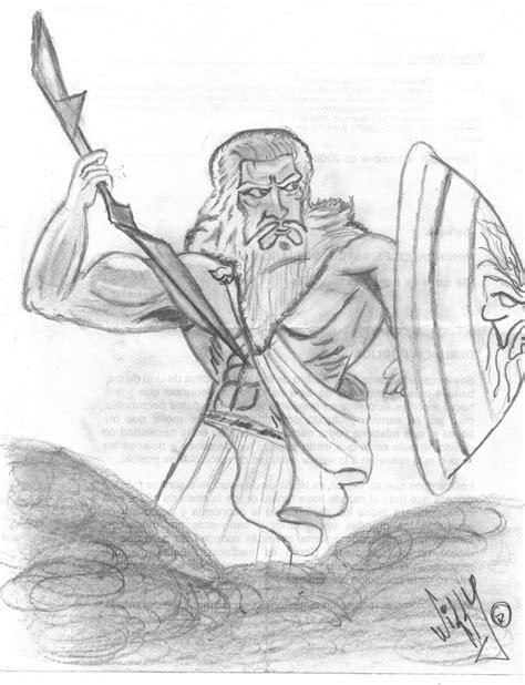 imagenes de dios zeus para dibujar zeus william octavio chaves casta 241 eda artelista com