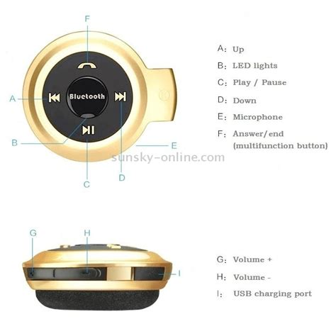 Promo Mini Stereo 3 5mm Gold Model L sunsky mini 503 sport bluetooth stereo headset
