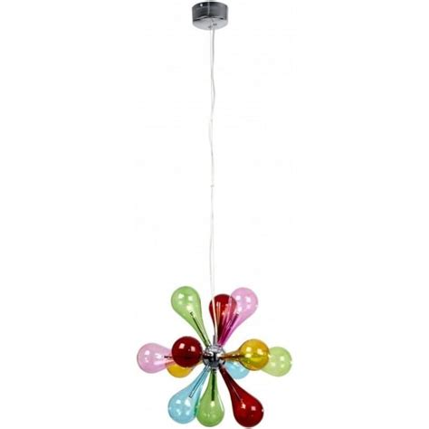 Multi Coloured Pendant Light Niven 9multi Pendant Ultra Modern Pendants Muti Coloured Pendant