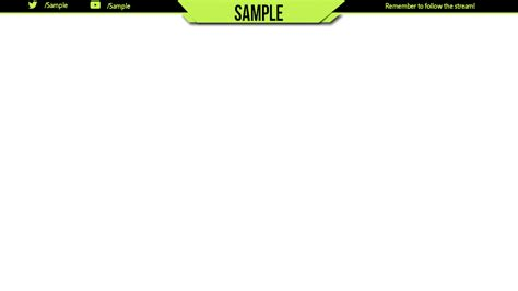 Free Twitch Overlay Template Twitch Overlay Template