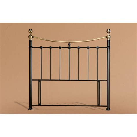 Black King Size Headboard Cheapest Elizabeth 5ft Black Metal Headboard Discounted Elizabeth El5bkh From Bed Sos