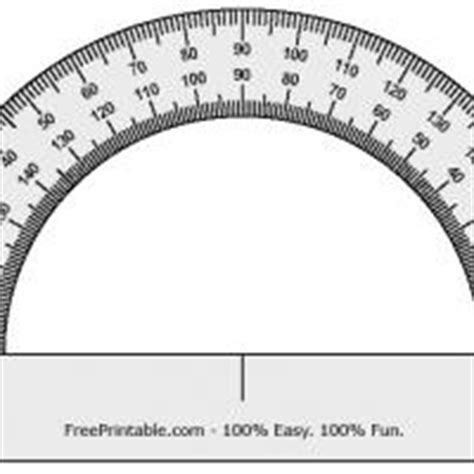 printable protractor and ruler protractor