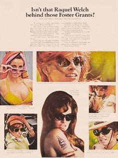 raquel welch foster grant waiters commercial youtube 1000 images about vintage eyewear ads on pinterest