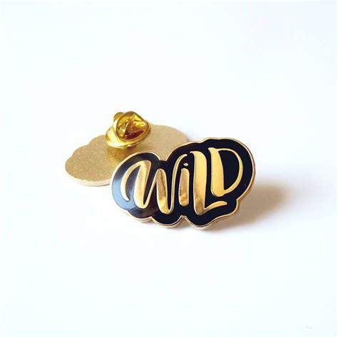 Pin Enamel gold enamel pin by paper pipit notonthehighstreet