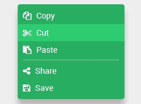 design menu using jquery create a simple touch enabled context menu using jquery