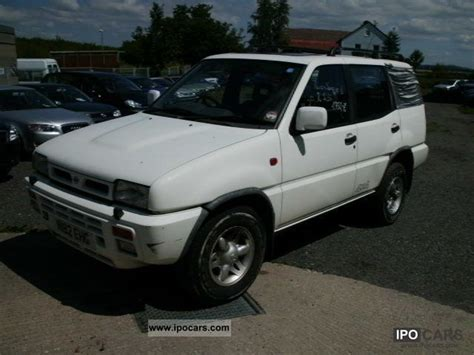 nissan terrano 1996 1996 nissan terrano ii se car photo and specs