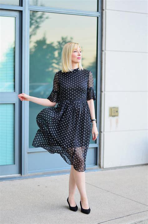 Stripi Polki Dress Hq in black dress dezzal polka dot dress stripes n vibes