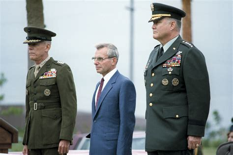 General H Norman Schwarzkopf Essay by U S Department Of Defense Photo Essay