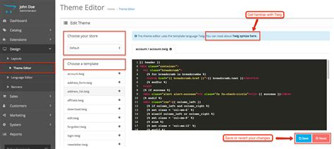 theme editor php opencart version 3 0 0 0 available to download now