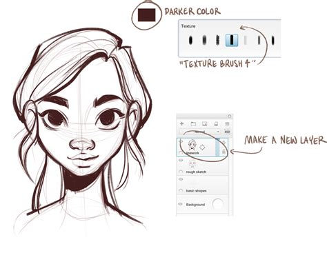 how to draw pdf draw faces with pencil step by step pdf drawing ideas