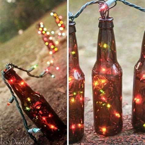 diy wine bottle outdoor decorating ideas diycraftsguru