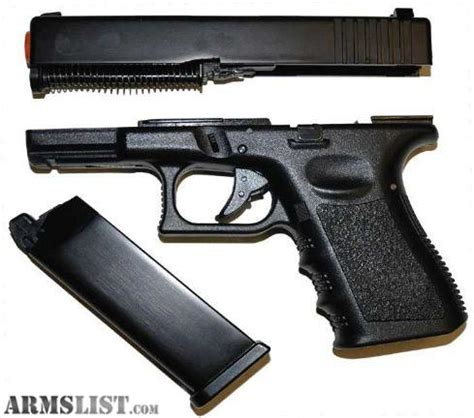 Airsoft Gun Glock 23 armslist for sale kj works glock 23 airsoft gun w metal slide 750 6mm bb s