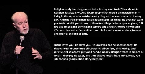 George Carlin Meme - christians are harassing the atheist lawyer who won the