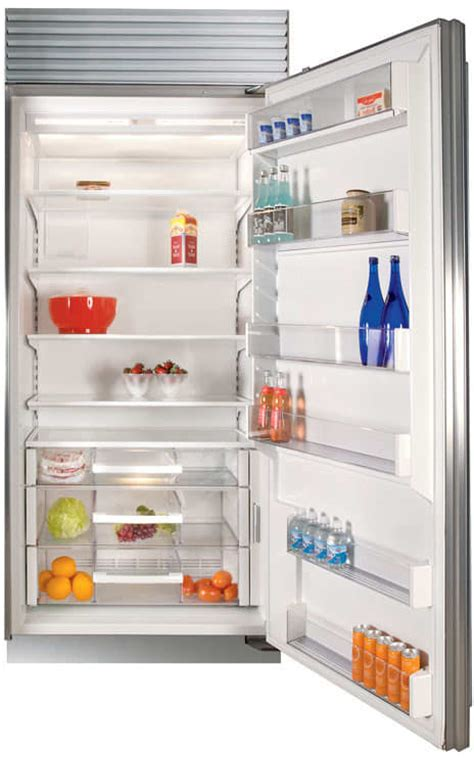 sub zero 36 inch kühlschrank sub zero bi36rsthrh 36 inch built in all refrigerator with