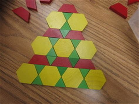 pattern block tessellations exles improving problem solving and creativity with