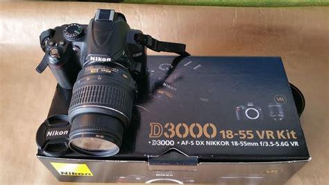 Nikon D3000 Kit Vr 1 nikon d3000 18 55 vr kit catawiki