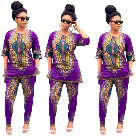 african pattern clothes women vintage traditional african casual clubwear top