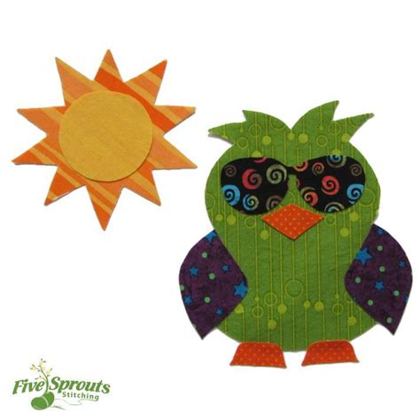 Owl Applique Template by Free Sewing Pattern Owl Applique Template I Sew Free