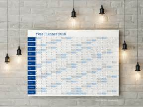 Free Calendar Planner Free Yearly Planner Adenda For 2018 Year Big Wall