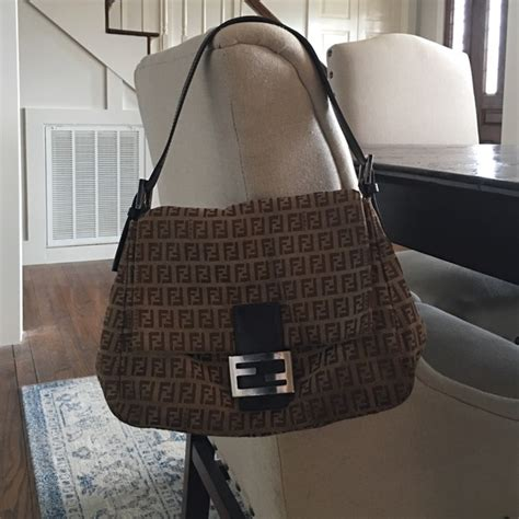 fendi handbags authentic fendi monogram shoulder