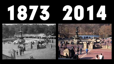 new york then and new york now and then 1873 vs 2014 youtube