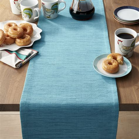 aqua blue table runner the hunt for the table runner