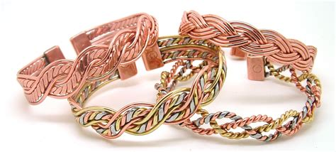Handcrafted Copper Bracelets - quality handcrafted magnetic copper bracelets